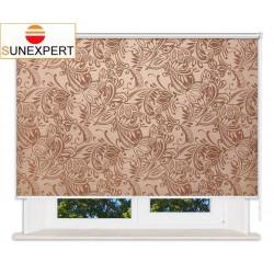 Рулонные шторы Люкс. Версаль шоколад