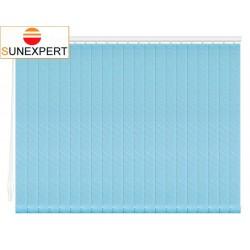 Вертикальные тканевые жалюзи. Бали небесно-голубой 100307-5253