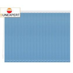 Вертикальные тканевые жалюзи. Сиде голубой 100101-5252