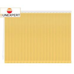 Вертикальные тканевые жалюзи. Сиде желтый 100101-3465