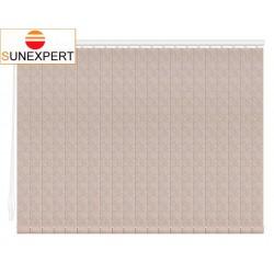 Вертикальные тканевые жалюзи. Сказка светло-коричневый 100312-2868