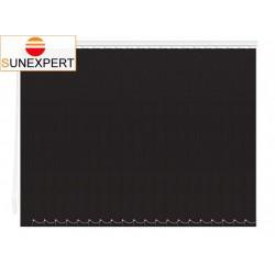 Вертикальные тканевые жалюзи. Скрин черный 100700-1908
