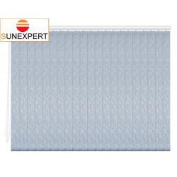 Вертикальные тканевые жалюзи. Джангл голубой металлик 100302-7282