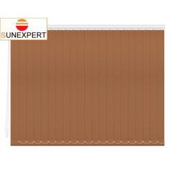 Вертикальные тканевые жалюзи. Лайн II коричневый 100100-2868