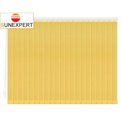 Вертикальные тканевые жалюзи. Лайн II желтый 100100-3204