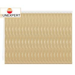 Вертикальные тканевые жалюзи. Металлик модерн золото 100803-7125