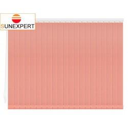 Вертикальные тканевые жалюзи. Рейн розовый 100108-4264
